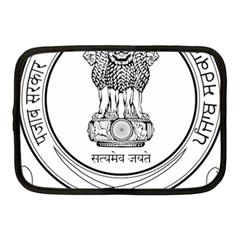 Seal Of Indian State Of Punjab Netbook Case (medium)  by abbeyz71
