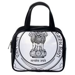 Seal Of Indian State Of Punjab Classic Handbags (one Side) by abbeyz71