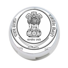 Seal Of Indian State Of Punjab 4 Port Usb Hub (one Side)