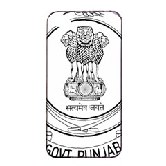 Seal Of Indian State Of Punjab Apple Iphone 4/4s Seamless Case (black) by abbeyz71