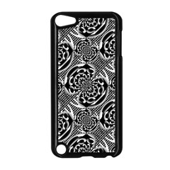 Metallic Mesh Pattern Apple Ipod Touch 5 Case (black) by linceazul