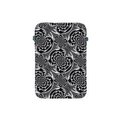 Metallic Mesh Pattern Apple Ipad Mini Protective Soft Cases by linceazul