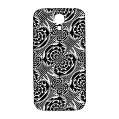 Metallic Mesh Pattern Samsung Galaxy S4 I9500/i9505  Hardshell Back Case by linceazul