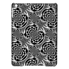 Metallic Mesh Pattern Ipad Air Hardshell Cases by linceazul