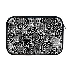 Metallic Mesh Pattern Apple Macbook Pro 17  Zipper Case by linceazul