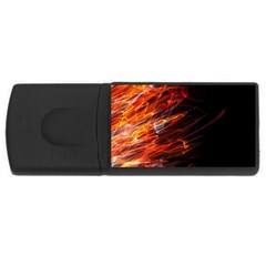 Fire Usb Flash Drive Rectangular (4 Gb)