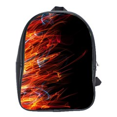 Fire School Bags(large)  by Valentinaart