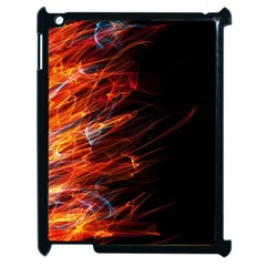 Fire Apple Ipad 2 Case (black) by Valentinaart