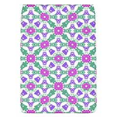 Multicolor Ornate Check Flap Covers (l)  by dflcprints