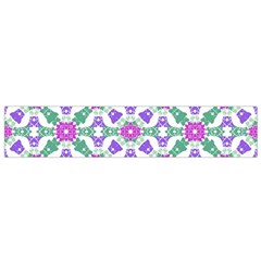 Multicolor Ornate Check Flano Scarf (small) by dflcprintsclothing