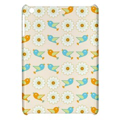Birds And Daisies Apple Ipad Mini Hardshell Case by linceazul