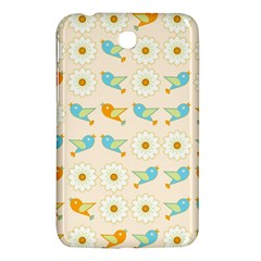 Birds And Daisies Samsung Galaxy Tab 3 (7 ) P3200 Hardshell Case  by linceazul