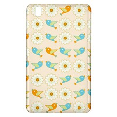 Birds And Daisies Samsung Galaxy Tab Pro 8 4 Hardshell Case by linceazul