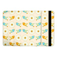 Birds And Daisies Samsung Galaxy Tab Pro 10 1  Flip Case by linceazul