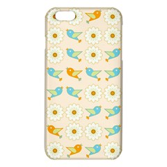 Birds And Daisies Iphone 6 Plus/6s Plus Tpu Case by linceazul