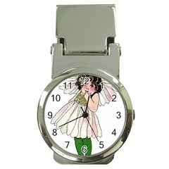 Daisy Vintage Flower Child Cute Funny Floral Little Girl Money Clip Watches