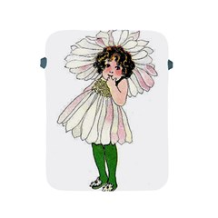 Daisy Vintage Flower Child Cute Funny Floral Little Girl Apple Ipad 2/3/4 Protective Soft Cases by yoursparklingshop
