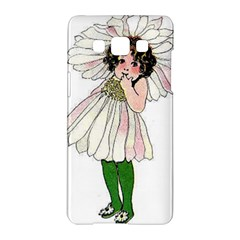 Daisy Vintage Flower Child Cute Funny Floral Little Girl Samsung Galaxy A5 Hardshell Case  by yoursparklingshop