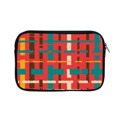 Colorful Line Segments Apple Ipad Mini Zipper Cases by linceazul