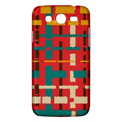 Colorful Line Segments Samsung Galaxy Mega 5 8 I9152 Hardshell Case  by linceazul