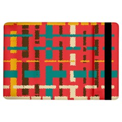 Colorful Line Segments Ipad Air Flip by linceazul