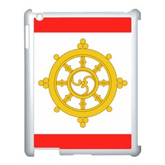Flag Of Sikkim, 1967 1975 Apple Ipad 3/4 Case (white) by abbeyz71