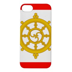 Flag Of Sikkim, 1967 1975 Apple Iphone 5s/ Se Hardshell Case by abbeyz71