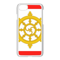 Flag Of Sikkim, 1967 1975 Apple Iphone 7 Seamless Case (white) by abbeyz71