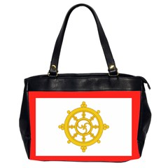 Flag Of Sikkim, 1967 1975 Office Handbags (2 Sides)  by abbeyz71