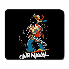Carnaval  Large Mousepads by Valentinaart