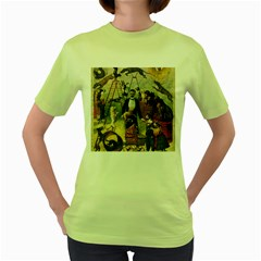 Dog Circus Women s Green T Shirt