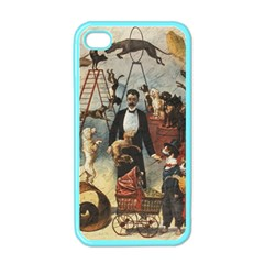 Dog Circus Apple Iphone 4 Case (color) by Valentinaart