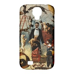 Dog Circus Samsung Galaxy S4 Classic Hardshell Case (pc+silicone)