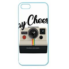 Say Cheese Apple Seamless Iphone 5 Case (color) by Valentinaart