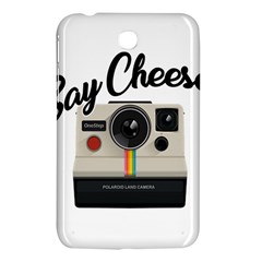 Say Cheese Samsung Galaxy Tab 3 (7 ) P3200 Hardshell Case  by Valentinaart
