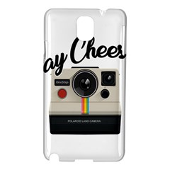 Say Cheese Samsung Galaxy Note 3 N9005 Hardshell Case by Valentinaart