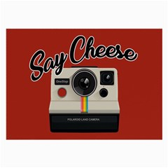 Say Cheese Large Glasses Cloth