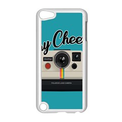Say Cheese Apple Ipod Touch 5 Case (white) by Valentinaart