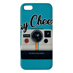Say Cheese Apple Iphone 5 Premium Hardshell Case
