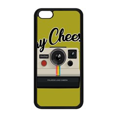 Say Cheese Apple Iphone 5c Seamless Case (black) by Valentinaart