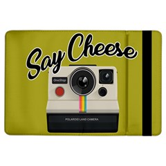 Say Cheese Ipad Air Flip by Valentinaart