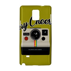 Say Cheese Samsung Galaxy Note 4 Hardshell Case by Valentinaart