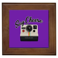 Say Cheese Framed Tiles