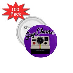 Say Cheese 1.75  Buttons (100 pack)