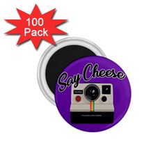 Say Cheese 1.75  Magnets (100 pack)