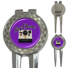 Say Cheese 3-in-1 Golf Divots