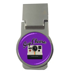 Say Cheese Money Clips (Round)