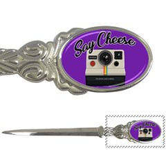 Say Cheese Letter Openers