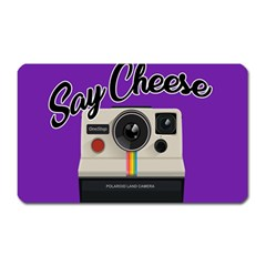 Say Cheese Magnet (Rectangular)