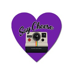 Say Cheese Heart Magnet